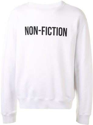 Off-White Slogan-Print Sweatshirt