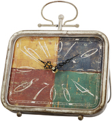 A&B Home Four-Color Square Clock