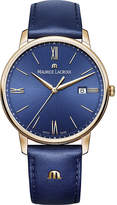 Maurice Lacroix El1118pvp014111 Eliros Leather And Gold-plated Watch