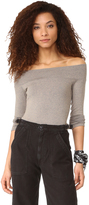 Riller & Fount Clint Off the Shoulder Top