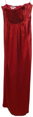 Kay Unger Red Velvet Dress for Women