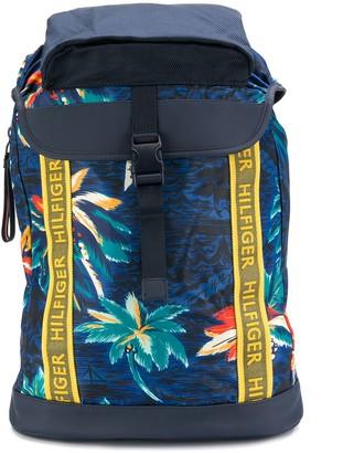 Tommy Hilfiger printed design backpack