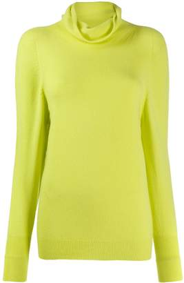 Blumarine roll neck jumper