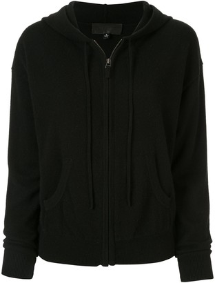 Nili Lotan cashmere zip-up hoodie