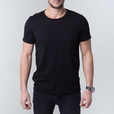 DSTLD Crew Neck Tee in Black