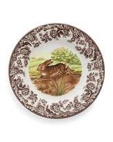 Spode Woodland Rabbit Salad Plates, Set of 4