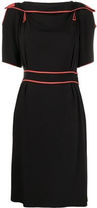 Gucci Pre-Owned Cut-Out Detailing Dress