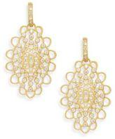 Freida Rothman Pavé Crystal Chandelier Drop Earrings