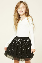 FOREVER 21 girls Girls Sequin Mini Skirt (Kids)