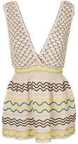 M Missoni sleeveless V-neck dress