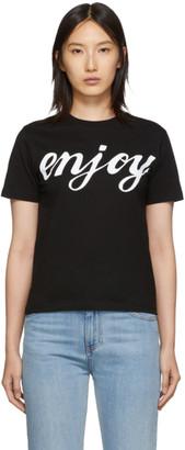 McQ Black Enjoy Band T-Shirt