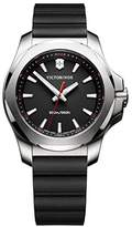 Victorinox Women's 241768 I.N.O.X. Watch with Black Dial and Black Rubber Strap