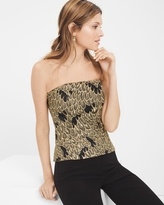 White House Black Market Lace Overlay Bustier