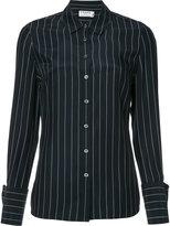 Frame pinstripe shirt - women - Silk - XS