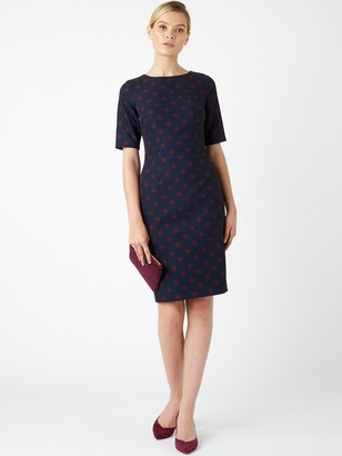 Hobbs Scatter Spot Astraea Dress - Spot Print