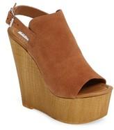 Steve Madden Women's Brandey Platform Wedge Sandal