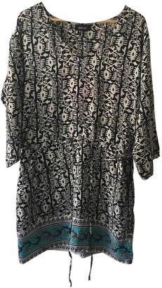 Tolani Multicolour Silk Top for Women