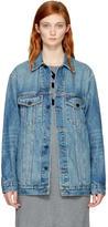 Alexander Wang Indigo Denim Daze Jacket