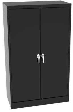 Standard Welded Storage Cabinet Tennsco Corp. Color: Black