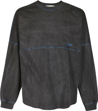 Ambush Grey Cotton Sweatshirt