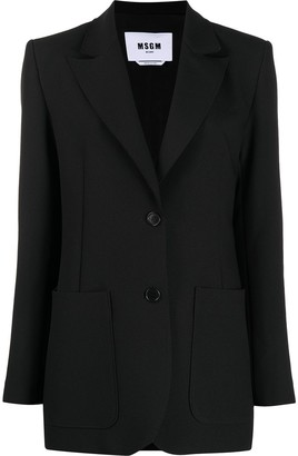 MSGM Single-Breasted Tailored Blazer