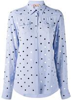 No.21 polka dot shirt - women - Acetate/Silk - 40