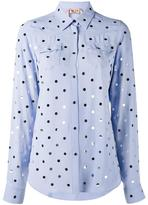 No.21 polka dot shirt - women - Silk/Acetate - 40