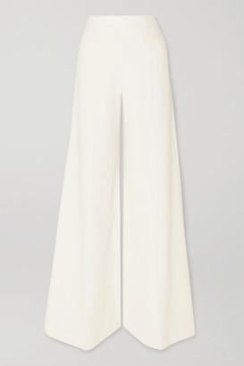 Roland Mouret Uppingham Cady Wide-leg Pants - White