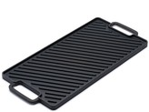 Food Network Pre-Seasoned Cast-Iron Reversible Grill