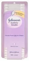 Johnson & Johnson Johnson's Safety Swabs, 185 ea