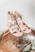 Matisse Suede Gladiator Sandal