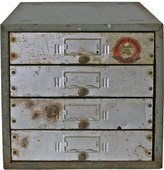 Rejuvenation Industrial Parts Cabinet by Union Utility Co C1935