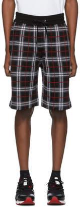Burberry Black Check Flynn Shorts