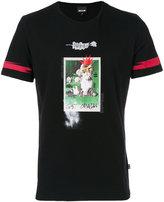 Just Cavalli logo print T-shirt - men - Cotton - S