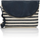 Barneys New York WOMEN'S FLAP-FRONT CROSSBODY BAG