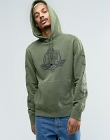 Billionaire Boys Club Overdyed Hoodie With Back Print