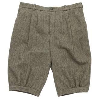 Chloé \N Grey Wool Shorts