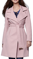 Yumi Tailored Trench Coat, Pastel Pink