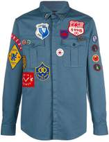 DSQUARED2 Badge shirt
