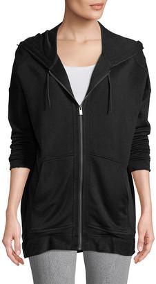 The Kooples Solid Hoodie Jacket