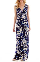 JCPenney A.N.A a.n.a V-Neck Empire Waist Maxi Dress