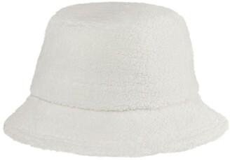 Helen Kaminski Luceat Wool Blend Fleece Bucket Hat