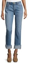 Tory Burch Serena Slouchy Straight-Leg Jeans