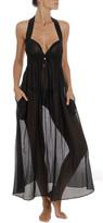 Stella McCartney Cotton-Silk Halter Coverup Long Dress