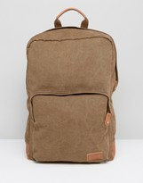 Esprit London Backpack In Canvas
