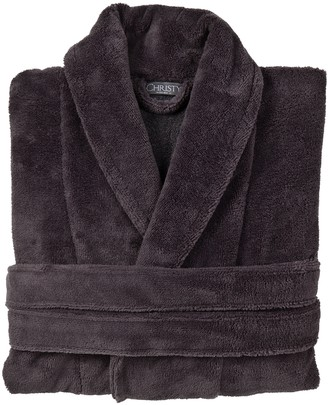 Christy Cosy Robe Small-medium Tarmac