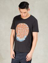 Nudie Jeans Black Magic Comes O-neck T-Shirt