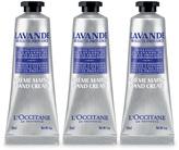 L'Occitane Lavender Hand Cream Trio