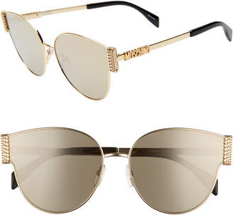 Moschino 61mm Special Fit Cat Eye Sunglasses