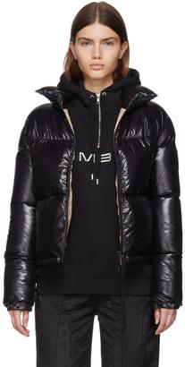 Moncler Black Down Shiny Rimac Jacket